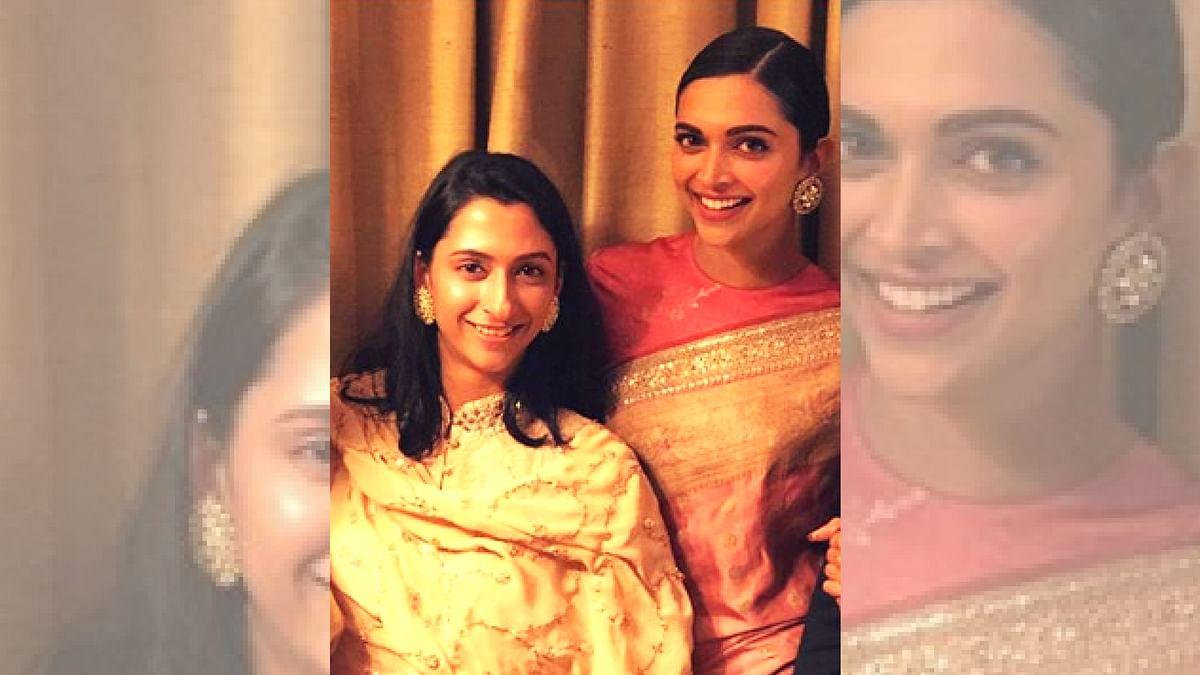 Anisha and Deepika Padukone.