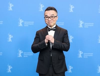 "Director Raman Hui of the film ""Monster Hunt 2"" (Xinhua/Shan Yuqi/IANS)"
