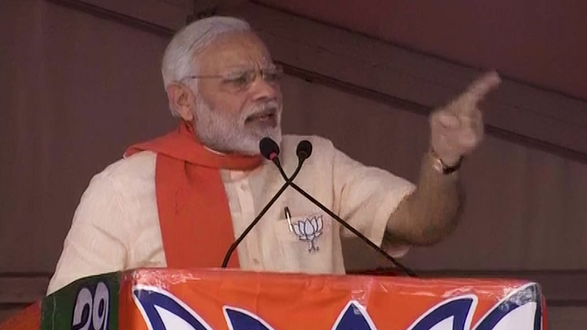 If Congress Can't Do Welfare,  Bid It Farewell: PM Modi in K'taka