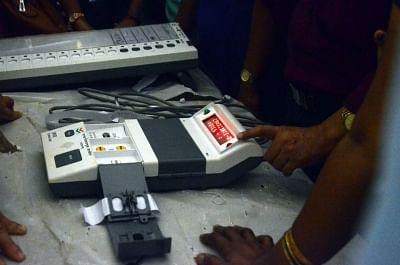 Electronic Voting Machines. (File Photo: IANS)
