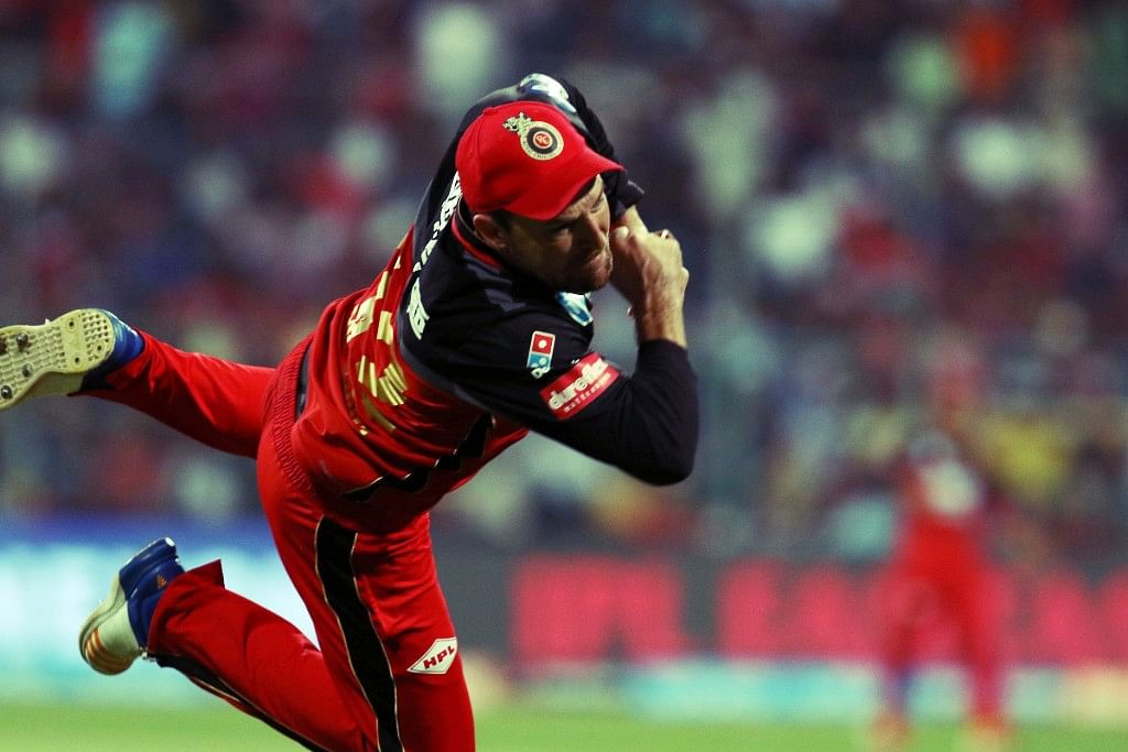File picture of Brendon McCullum in action on the field against Royal Challengers Bangalore.