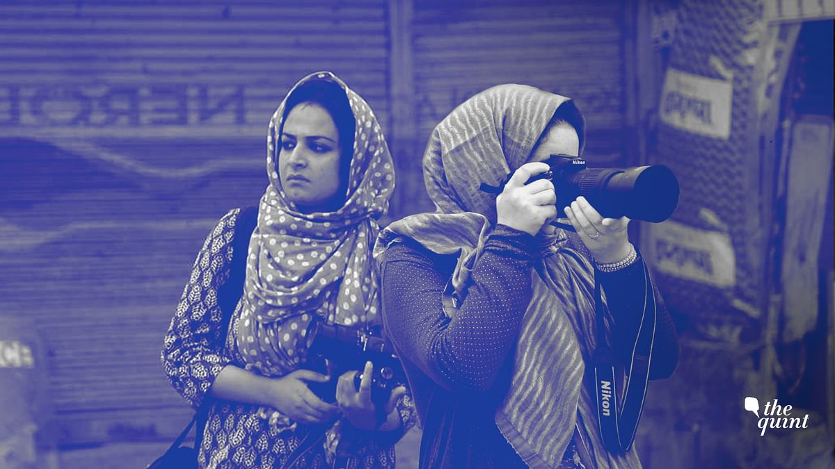 Masrat Zahra and Sanna Mattoo are photojournalists from the valley. They are doing what they love despite resistance from all directions.