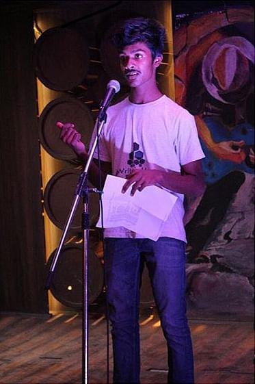 Ashwath Narayanan, during one of his performances.