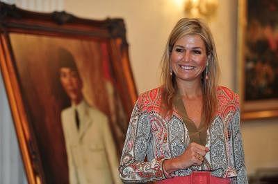 Queen Maxima of the Netherlands. (Xinhua/Zulkarnain/IANS)