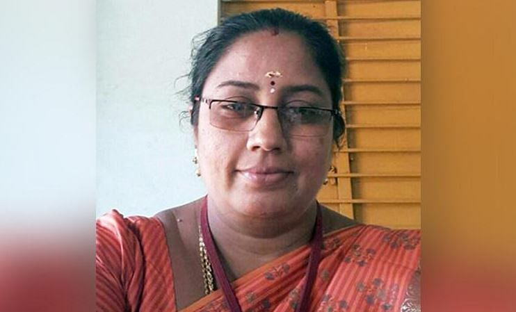 The infamous teacher from Tamil Nadu accused of trying to lure students into sex work.