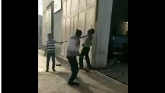 Caught on Cam: Dalit Man Tied, Beaten to Death  in Gujarat; 5 Held