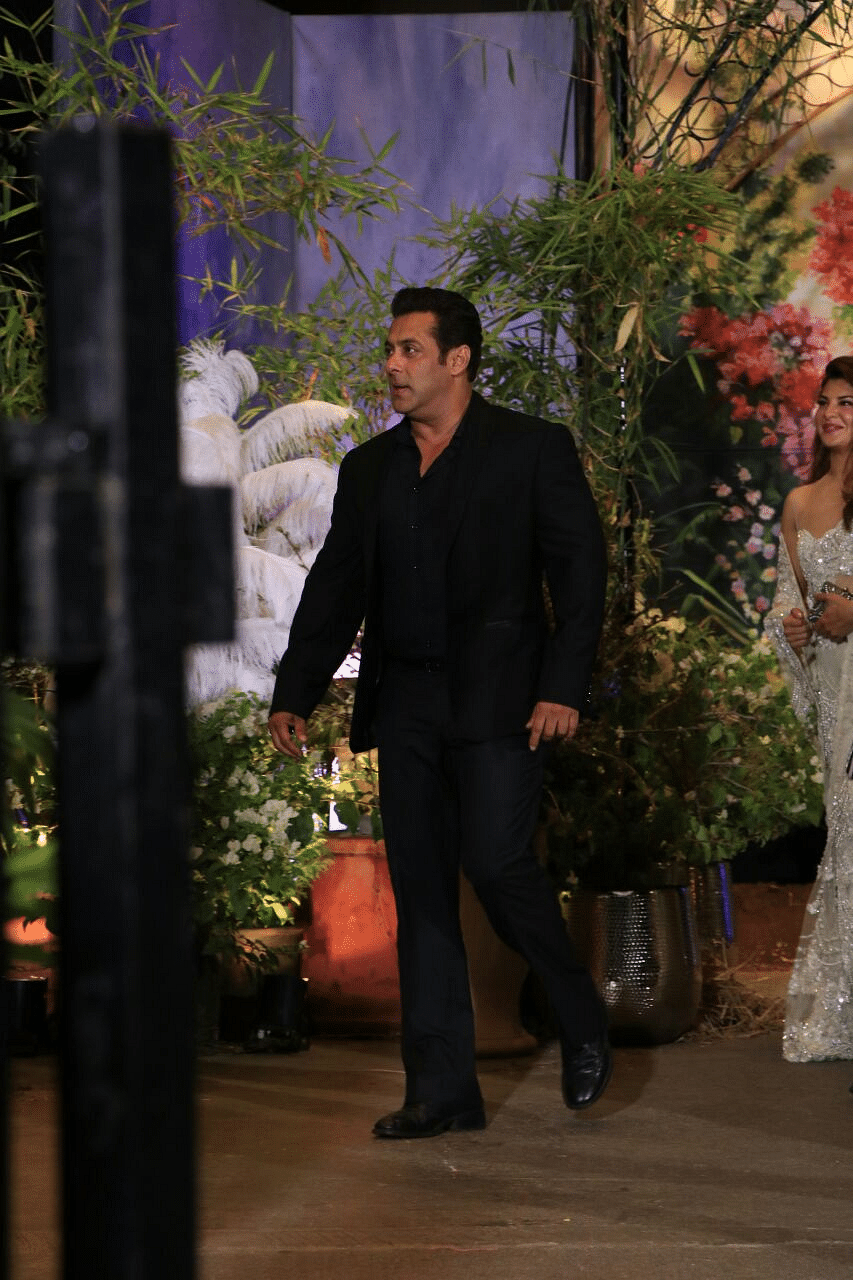 Salman Khan enters with swag.