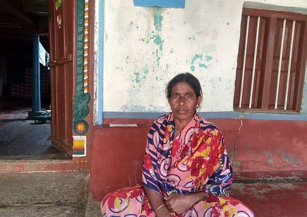 Fifty-year-old Nagamma does not immediately recollect which bank her son Mahesh owed money to. In addition to farm debt, 28-year-old Mahesh had also accumulated debt for his sisters' weddings and Nagamma's healthcare. Mahesh committed suicide in June 2015.