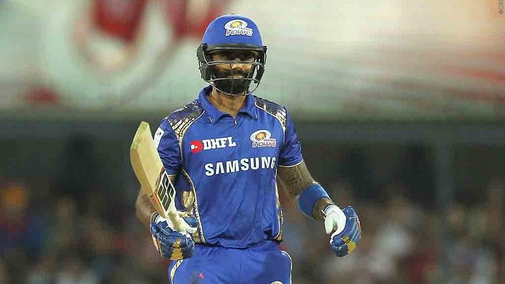 Suryakumar Yadav has been the lone consistent performer in Mumbai's unsteady batting.