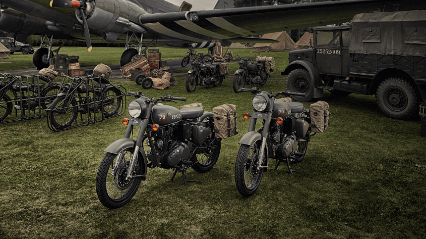 The new Royal Enfield Classic 500 limited edition.