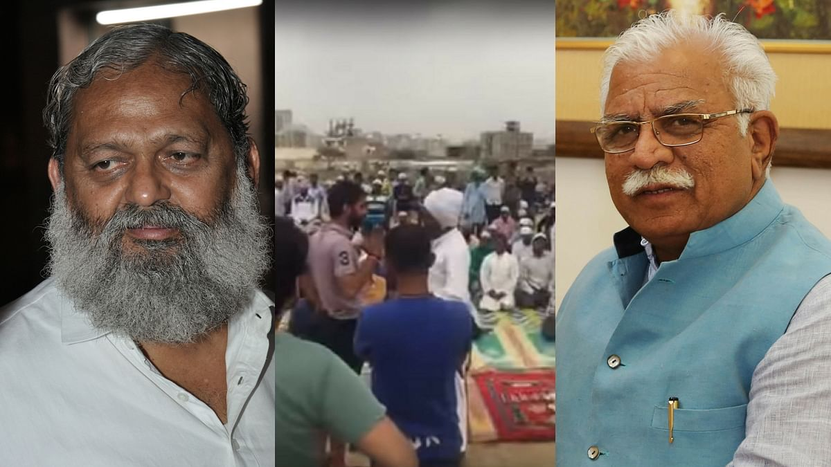 The latest disruption came two weeks after Hindus from two villages in Gurugram stopped namaaz in an open space in Sector 53 where around 700 Muslims pray every Friday.