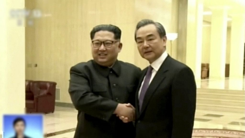 Chinese Foreign Minister Meets Kim Jong Un on North Korea Visit