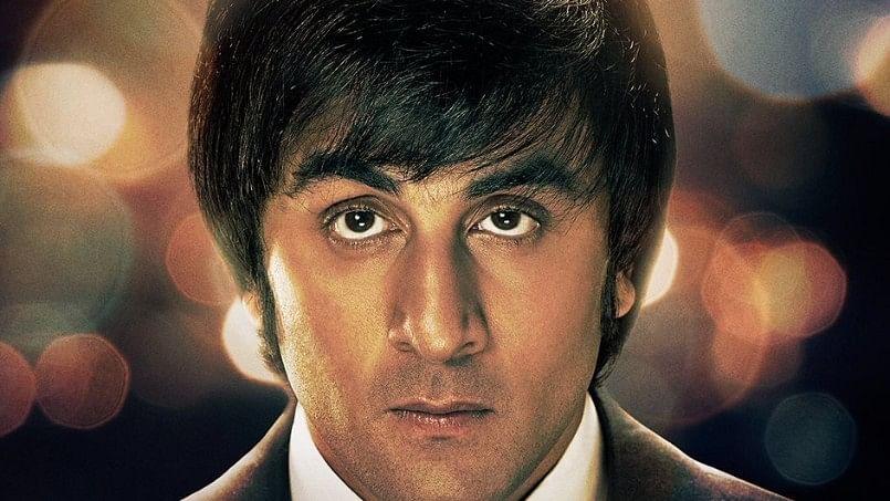 Ranbir Kapoor as Sanjay Dutt  in the latest poster.