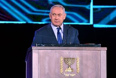 Israeli Prime Minister Benjamin Netanyahu . (Xinhua/Yossi Zeliger-JINI/IANS)