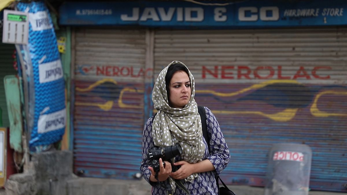 Sanna Mattoo is a 24-year-old professional freelance photojournalist based in Srinagar.