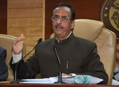 Uttar Pradesh Deputy Chief Minister Dinesh Sharma. (File Photo: IANS)