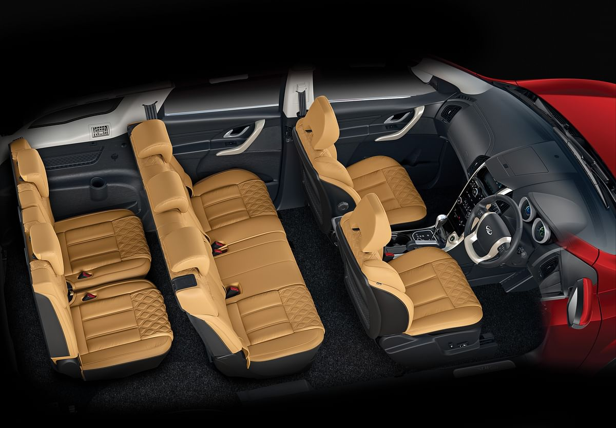 Inside the XUV500, you will always feel pampered.