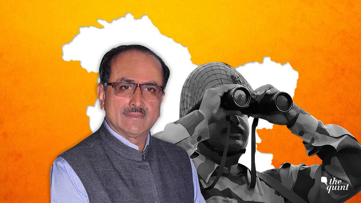 Former Deputy Chief Minister of Jammu and Kashmir Nirmal Singh.