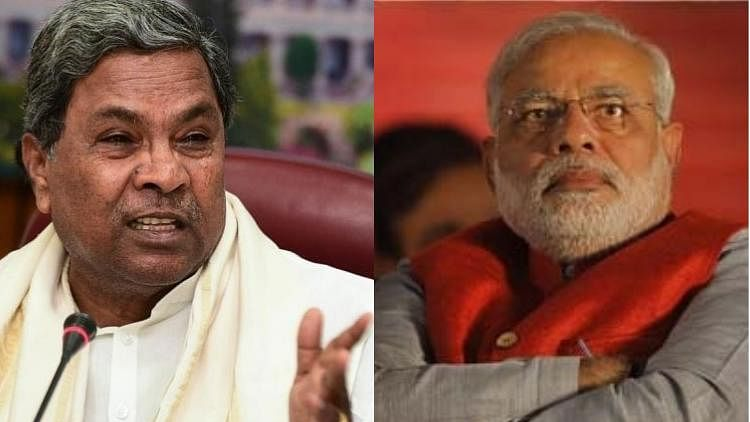Karnataka Chief Minister Siddaramaiah was pitted against Prime Minister Narendra Modi.