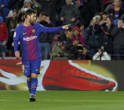Lionel Messi. (Xinhua/Joan Gosa/IANS)