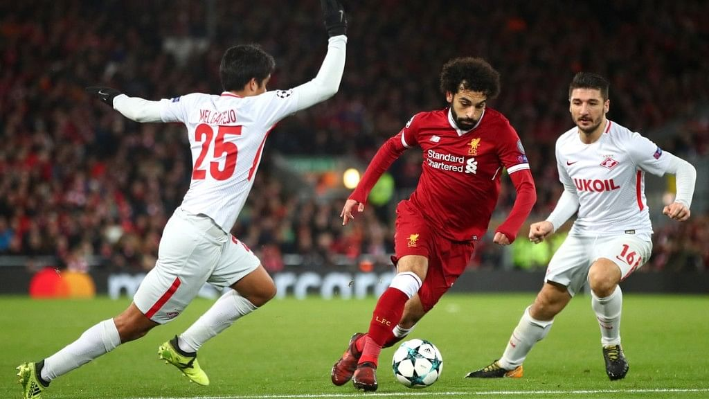 Mo Salah has scored 11 goals for Liverpool this season in the Champion League till now.
