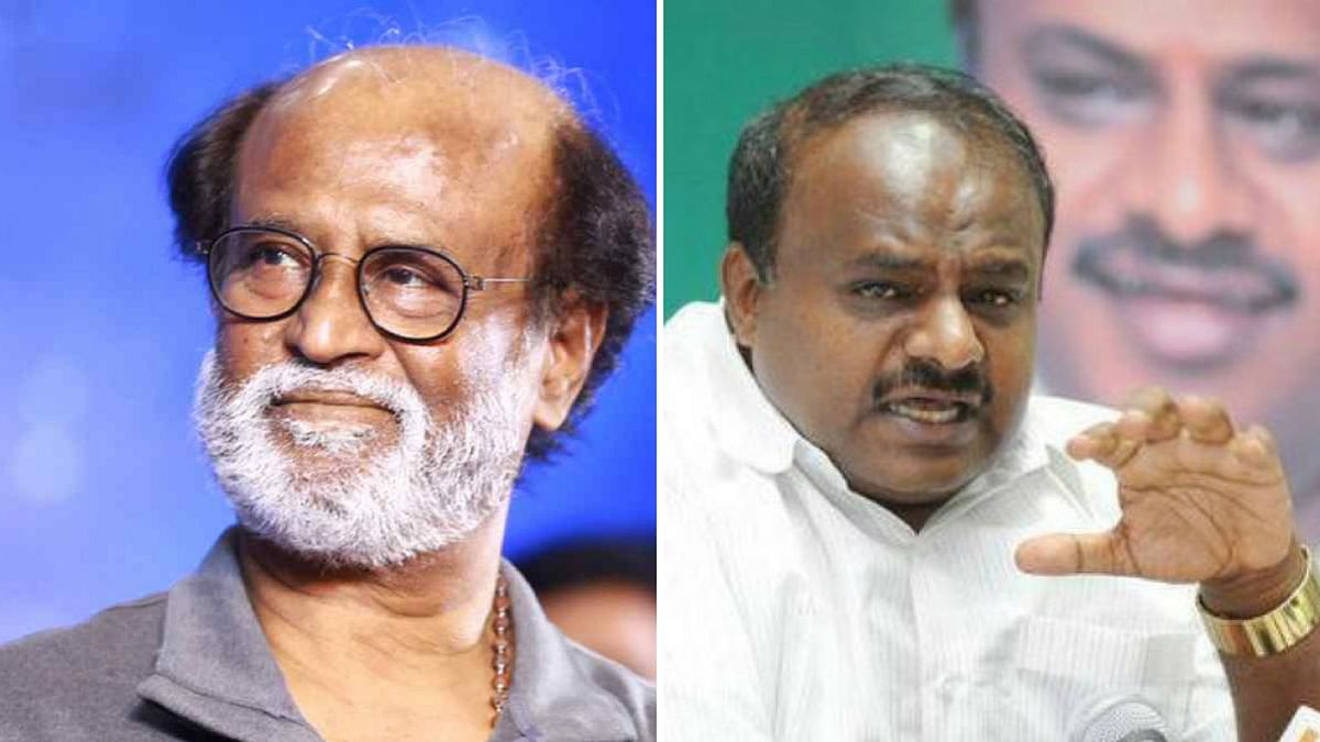 Kumaraswamy Asks Rajini to Visit State After Cauvery Issue Remark