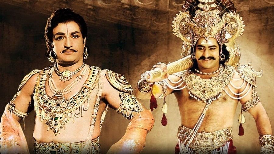 Next time you think of a Telugu movie, think of Nandamuri Taraka, the man who carries NTR's legacy. That he's his grandson, is only incidental.