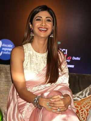 Actress Shilpa Shetty. (Photo: Amlan Paliwal/IANS)