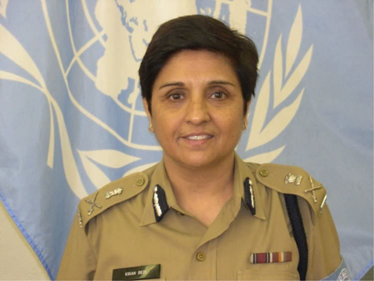 Kiran Bedi was one of the two police advisers deployed by India at the UN headquarters