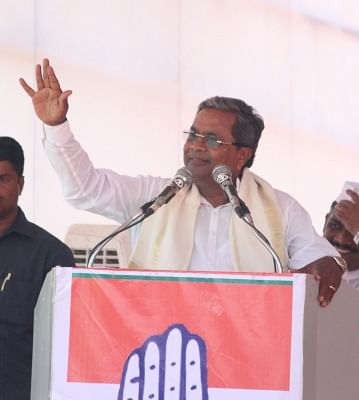 Karnataka Chief Minister Siddaramaiah. (Photo IANS)