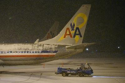 American Airlines. (Xinhua/Yin Bogu/IANS) (bxq)