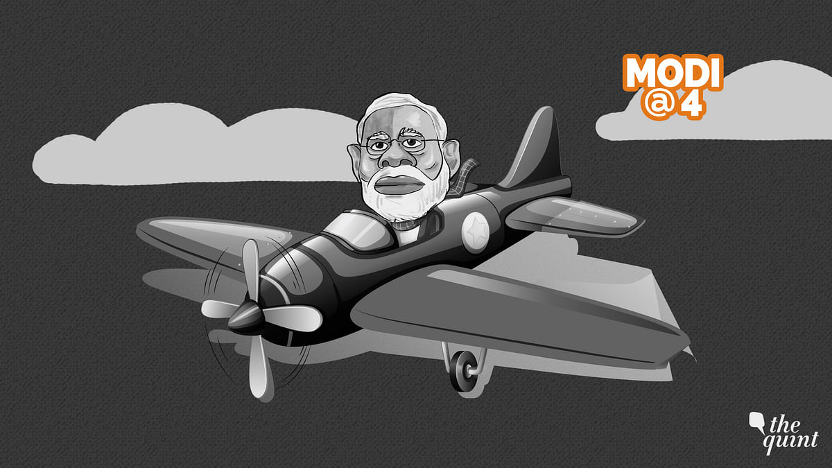 Did PM Modi's Honeymoon Travels Bring India Frequent Flyer Miles?