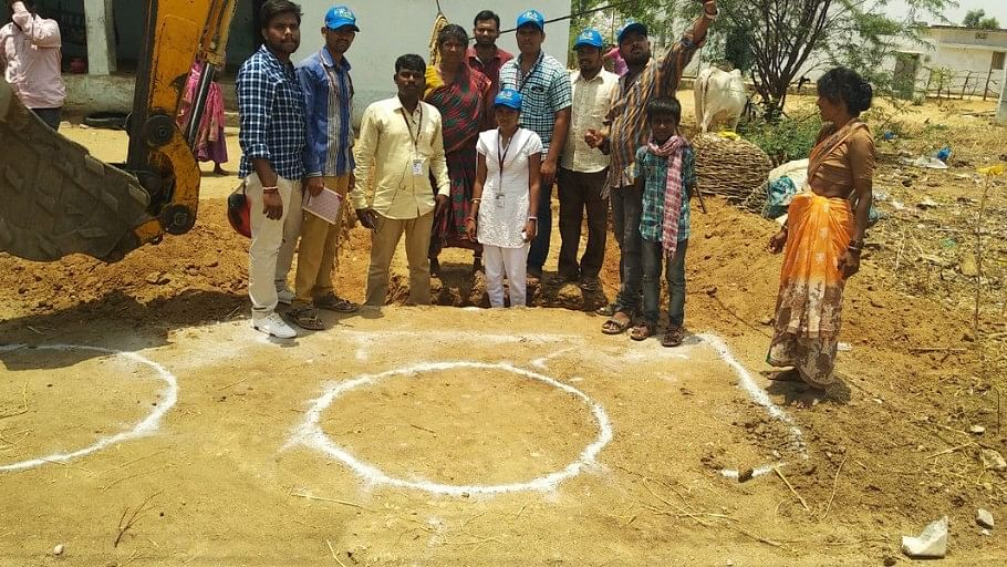Awareness programs on twin-pit toilets were conducted at Kamareddy district in Telangana