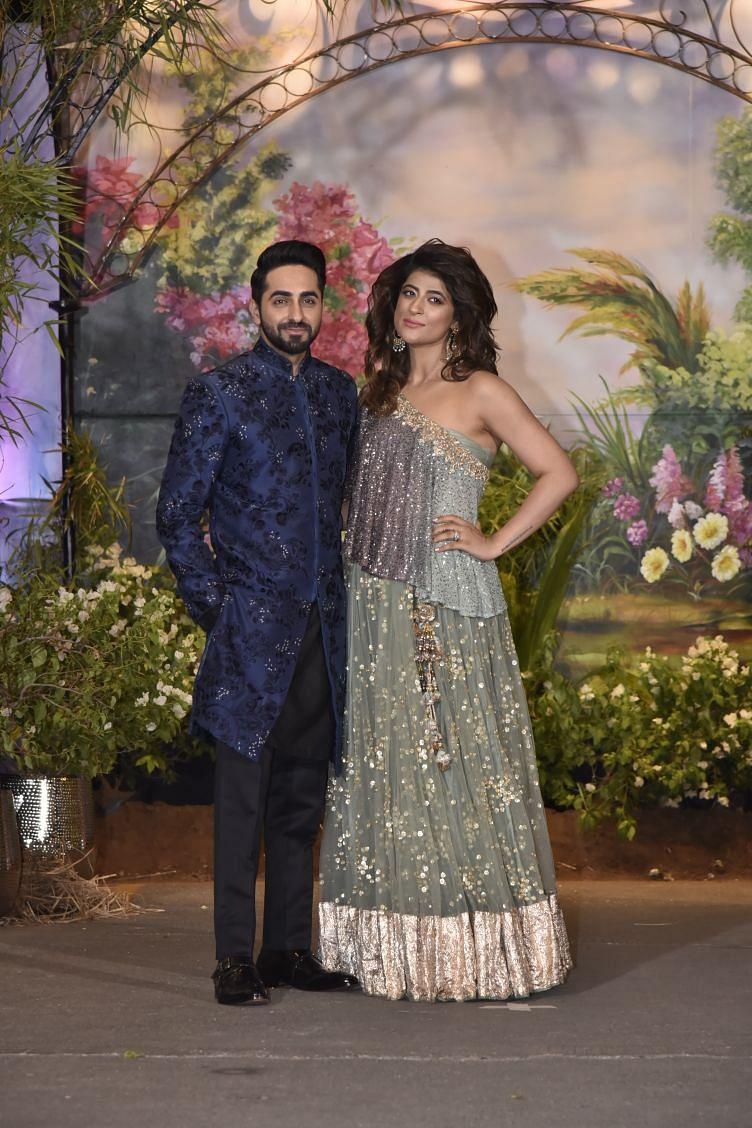 Ayushmann Khurrana with wife Tahira.