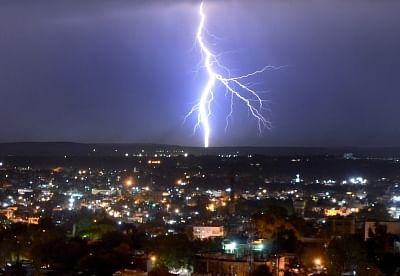 Lightning (File Photo: IANS)