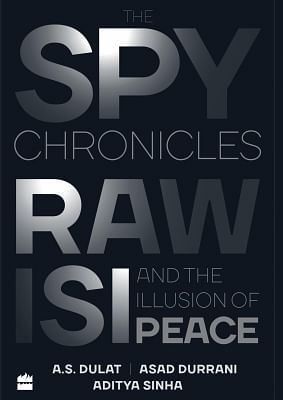 Book Cover of Spy Chronicles.