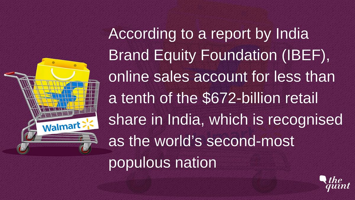 What's at stake for online giants like Walmart and Amazon in India.