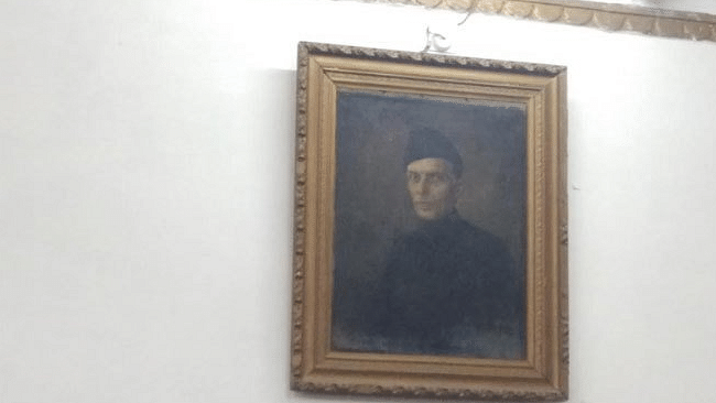 The portrait of Jinnah which has allegedly sparked a row.