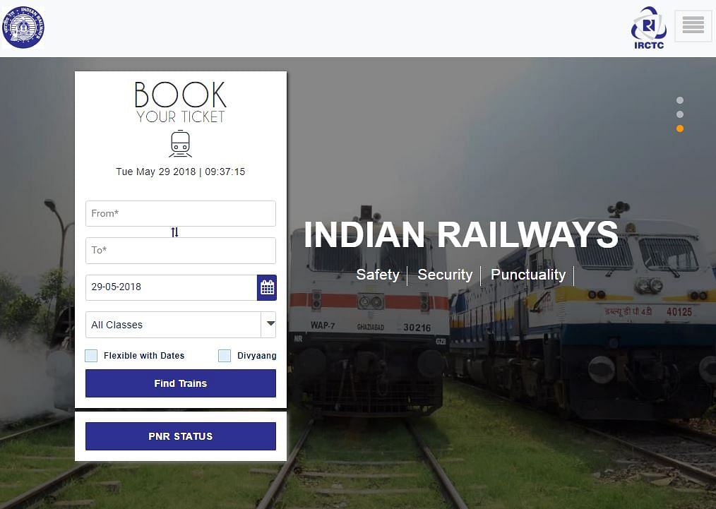 IRCTC now predicts chances of confirmation based on booking trends.