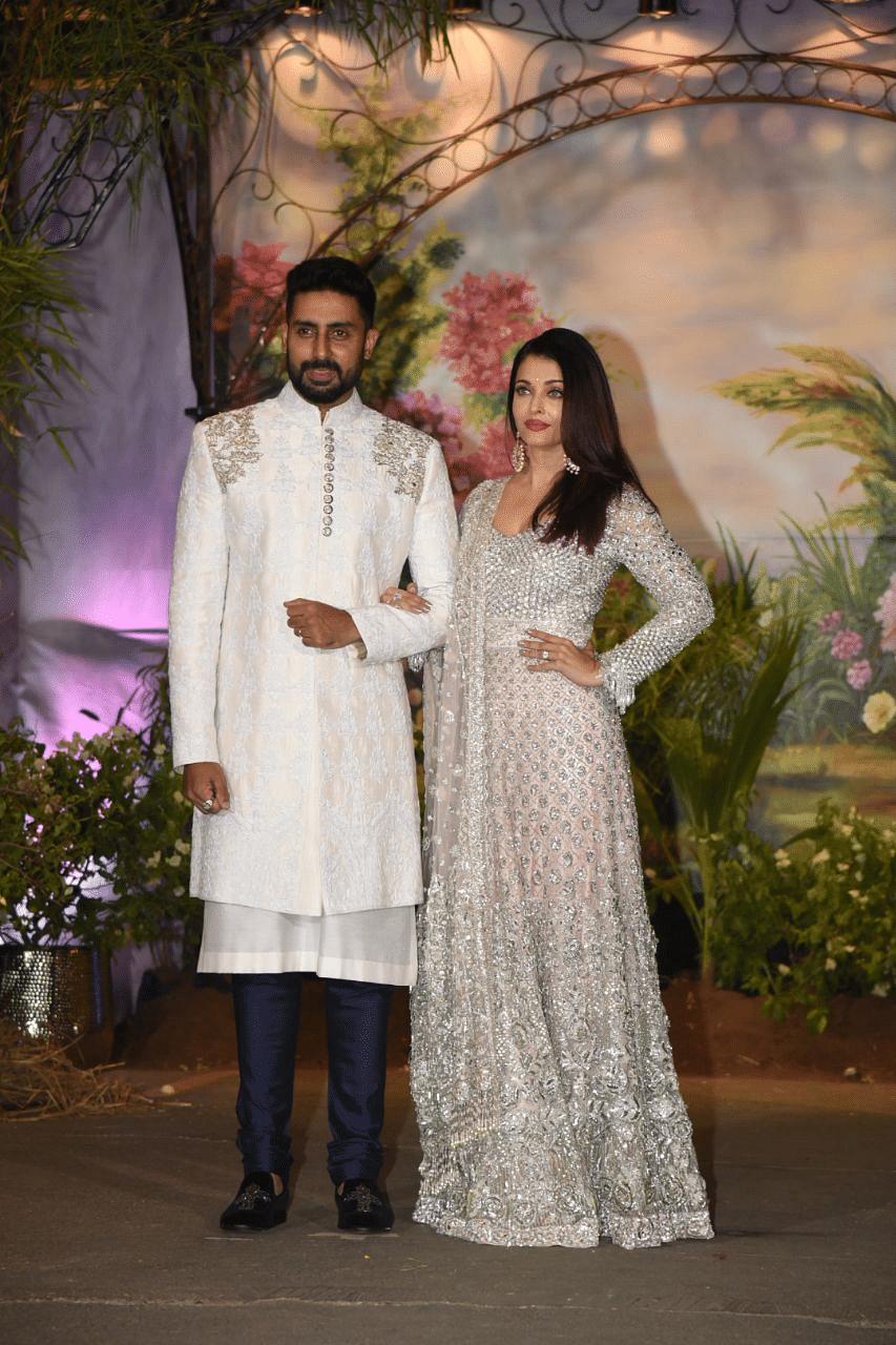 ABhishek Bachchan and Aishwarya Rai Bachchan looked like a dream
