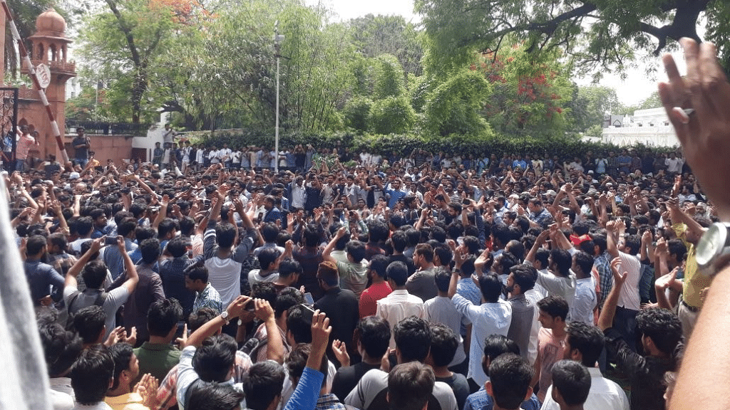 Jinnah Portrait Row: AMU Students Protest Violence, to Approach HC