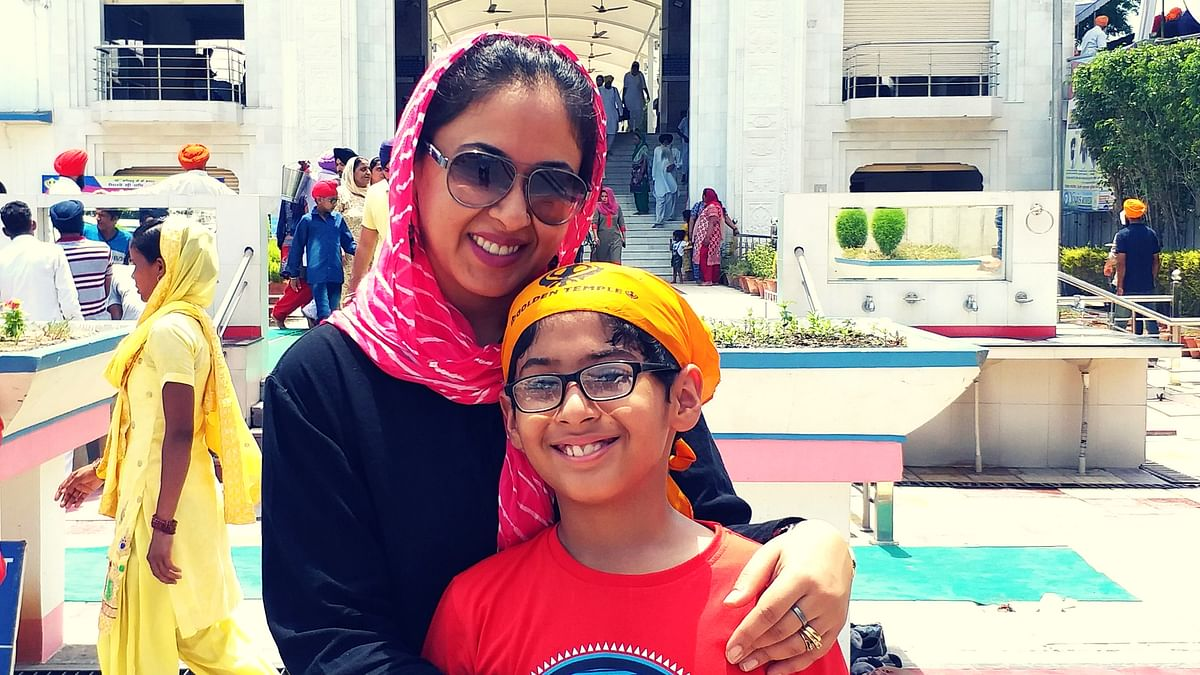 """""""Although I was very happy that I was becoming a mother, it was a very difficult phase of my life,,"""" says Aarti."""