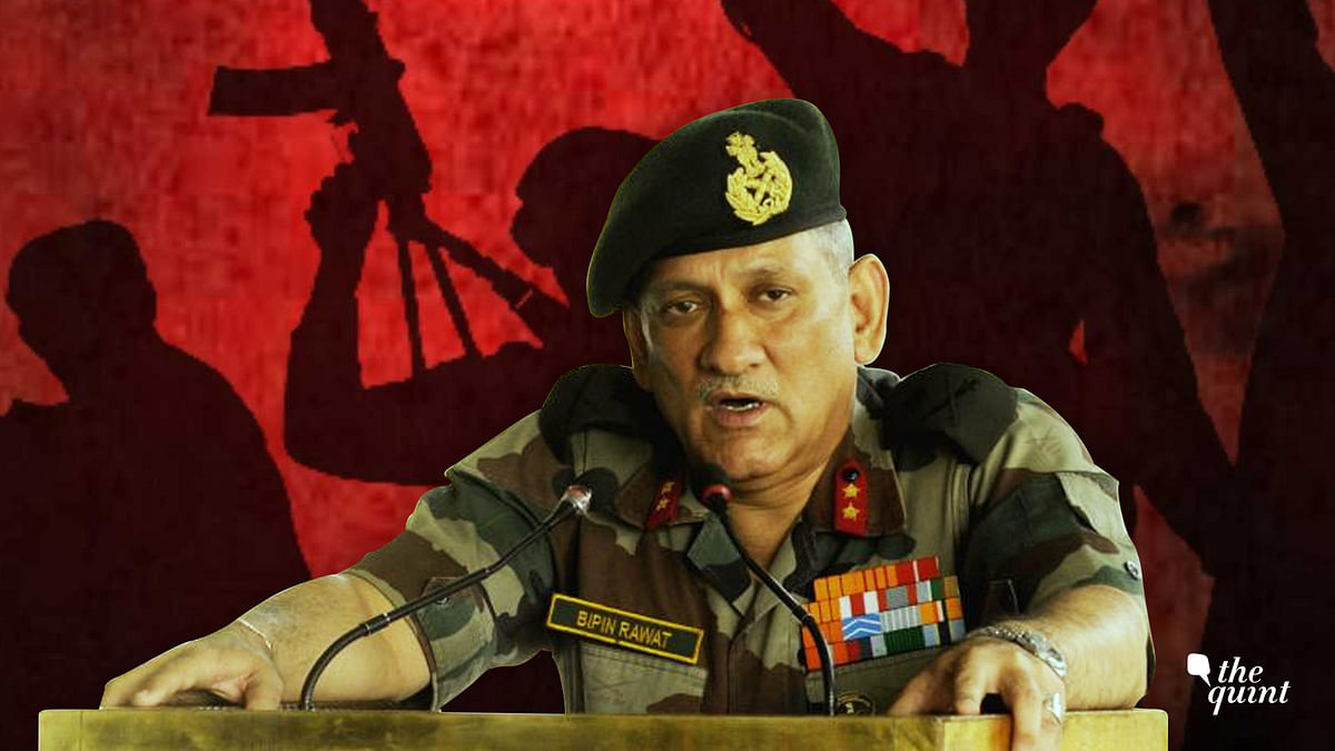 No, J&K is NOT Syria. And Army Chief Can't Fix 70-Yr-Old Conflict
