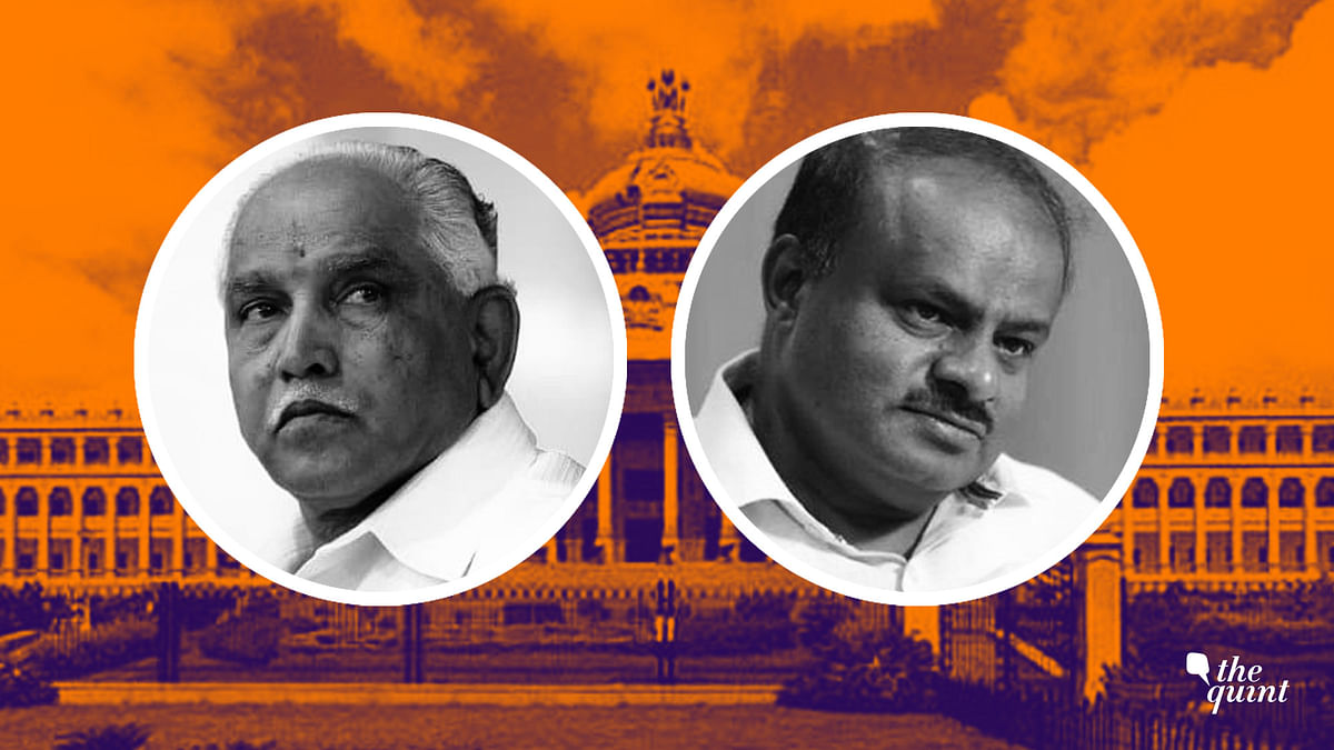 Yeddyurappa and HD Kumaraswamy
