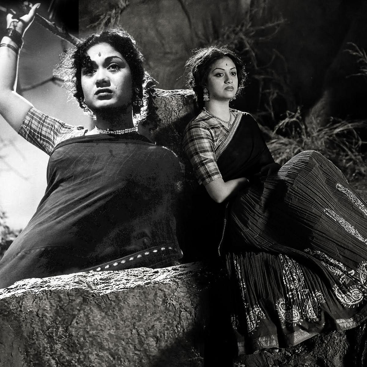Keerthy Suresh as Savitri in the biopic <i>Mahanati</i>.
