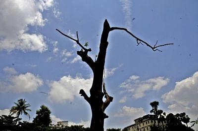 Partially cloudy sky. (File Photo: IANS)