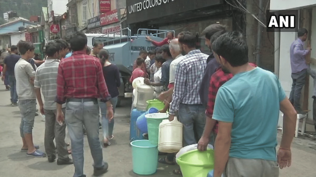 Shimla Ask Tourists to Avoid Town as Water Woes Continue