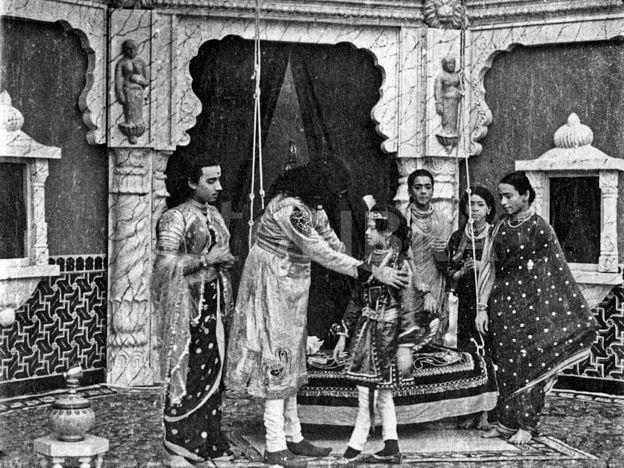 A still from <i>Raja Harishchandra.</i>