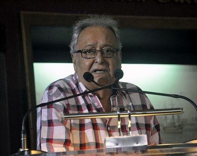 Soumitra Chatterjee. (Photo: IANS)
