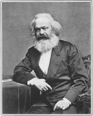 Karl Marx, whose theories are being proved right now after a period of being discredited.